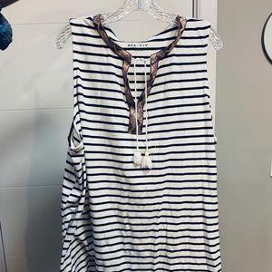 Ava & Viv Jersey Sleeveless Dress